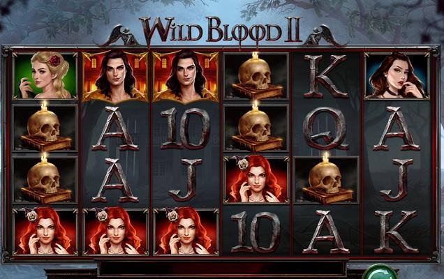 5000 ganger innsatsen i Wild Blood 2!